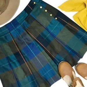 TOMMY HILFIGER Plaid Pleated Schoolgirl Skirt